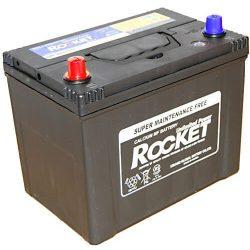 Rocket 75Ah 12V autó akkumulátor NX110-5 ASIA Bal+