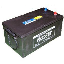 Rocket 230Ah 12V teherautó akkumulátor 73011 bal+