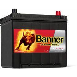Banner Power Bull 12V 60Ah autó akkumulátor P6062 jobb+