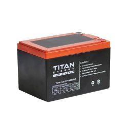 TitanEnergy CyclicPower 12V 14Ah kerékpár akkumulátor 6-DZM-14 zselés
