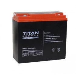TitanEnergy CyclicPower 12V 20Ah kerékpár akkumulátor 6-DZM-20 zselés