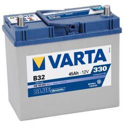 45Ah VARTA Blue Dynamic ASIA B32 akkumulátor jobb+ (545 156 033)
