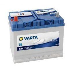 Varta Blue Dynamic E24 12V 70Ah autó akkumulátor 570413 bal+