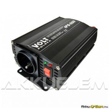 VOLT Polska IPS500 350W/max.500W 12V trapéz inverter