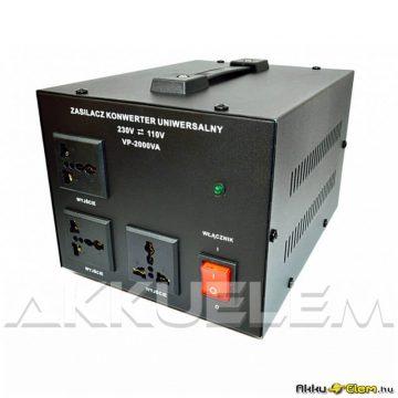 VOLT Polska 2000VA 230V/110V konverter lágyindítású