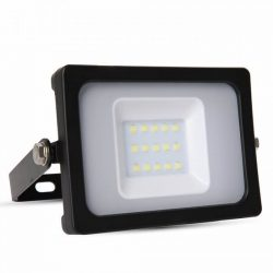 V-TAC SLIM 10W 800lm reflektor fekete színű
