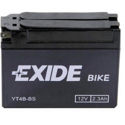EXIDE YT4B-BS/ ET4B-BS 35A 12V 2.3Ah  motorkerékpár akkumulátor