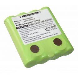 PMR adó-vevő akkumulátor 4,8V 700mAh