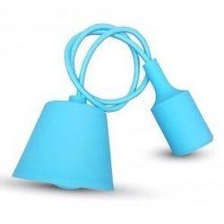 V-TAC E27 függő lámpatest világoskék színű