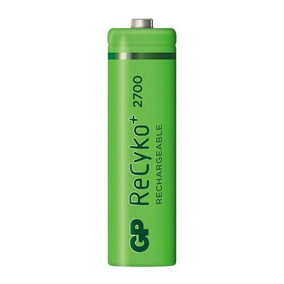 GP ReCyko+ 2700Series 1,2V 2600mAh AA elemméretű akkumulátor (ár/db)