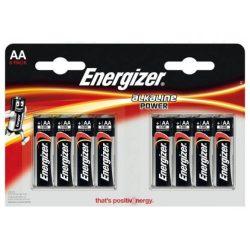Energizer  AA LR6 elem 8 db/csomag E91