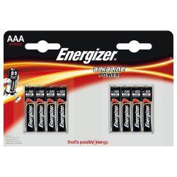 Energizer AAA LR03 elem 8 db-os csomagban