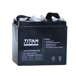 TitanEnergy CyclicPower 12V 33Ah kerekesszék akkumulátor TC33-12 zselés
