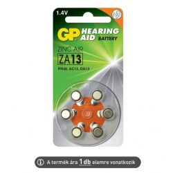 Hallókészülék elem GP ZA13