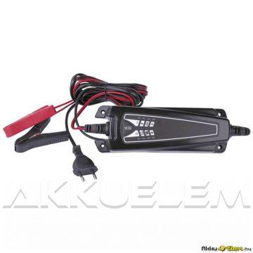 EE04A 6V12V 4A autó és motor akkumulátor töltő N1014