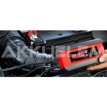 Banner 12V 3A autó és motor akkumulátor töltő