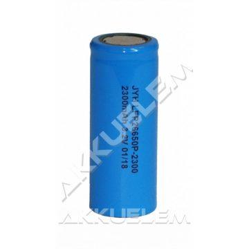 Ipari akkucella 26650 LiFePO4 3,2V 2300mAh LFP26650P-2300