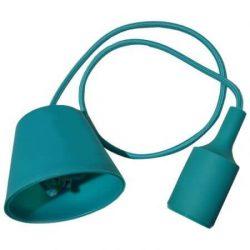 V-TAC E27 függő lámpatest zöld