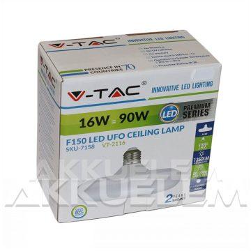 V-TAC E27 15W 1350lm 3000K 120 ° UFO LED-izzó