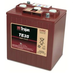 Trojan TE35 6V 245Ah munka akkumulátor 3/ 9 GiS 196 DIN