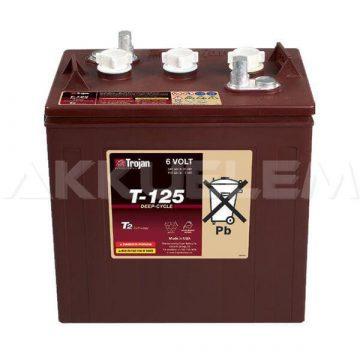 Trojan T-125 Plus 6V 240Ah munka akkumulátor