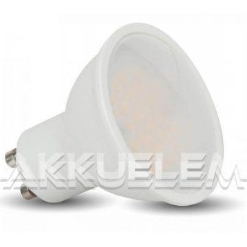 V-TAC GU10 7W 550lm 4000K 110° LED-izzó opál dimmelhető