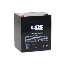 UPS Power 12V 5Ah zselés akkumulátor MC5-12