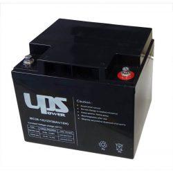 UPS Power 12V 38Ah zselés akkumulátor (MC38-12)