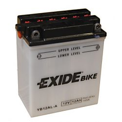 Exide EB12AL-A YB12AL-A MKP akku 12V 12Ah 165A Jobb+