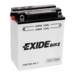 Exide 12N12A-4A-1 motorkerékpár akkumulátor 12V 12Ah 115A BAL+