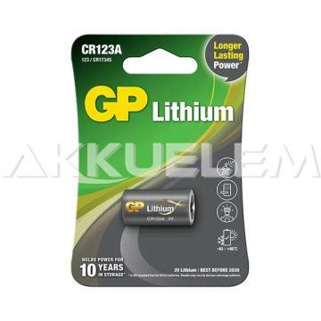 GP fotóelem CR123A 3V
