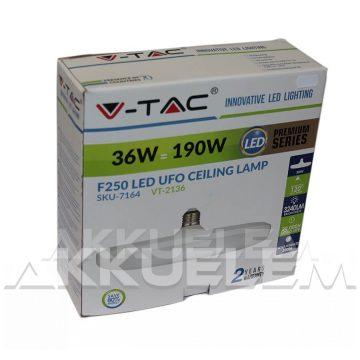 V-TAC E27 36W 3240lm 4000K 120 ° UFO LED-izzó