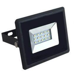 "V-TAC ""E-széria"" 10W 850lm 4000K LED-reflektor fekete színű"