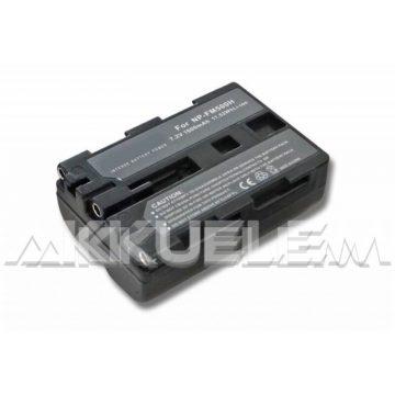 Sony NP-FM500H 10,8Wh 7,2V 1900mAh utángyártott kamera akkumulátor