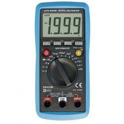 Digitális multiméter 0,2-600V 200µ-10A EM420B M0420