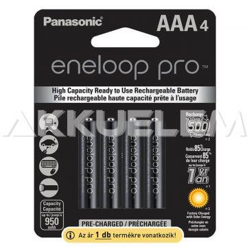 Panasonic Eneloop PRO 1,2V 930mAh AAA elemméretű akkumulátor ár/db