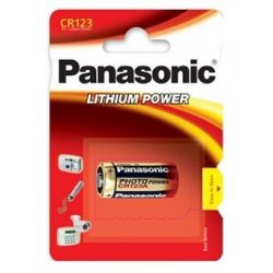 Panasonic CR123A Lítium 3V fotóelem