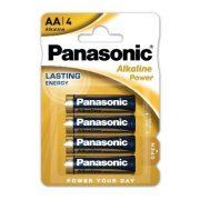 Panasonic Alkaline Power LR6 AA elem MN1500 4db-os csomagban