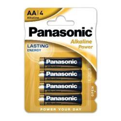 Panasonic Alkaline Power LR6 AA elem MN1500 4 db ár/bliszter