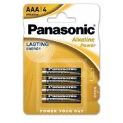 Panasonic Alkaline Power LR03 AAA elem MN2400 4 db-os csomagban