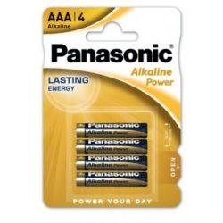 Panasonic Alkaline Power LR03 AAA elem MN2400 4 db ár/bliszter