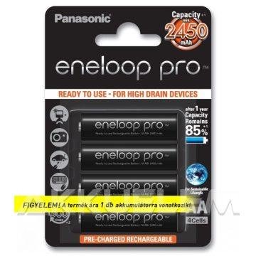 Panasonic Eneloop PRO 1,2V 2500mAh AA elemméretű akkumulátor (ár/db)