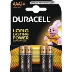 Duracell Duralock Basic MN2400 AAA elem 4 db ár/bliszter