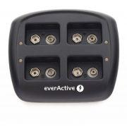 everActive NC-109 9V  Ni-MH akkumulátor töltő négycsatornás