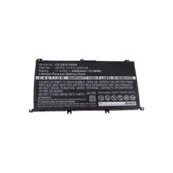 TitanEnergy Dell Inspiron 15 7559 11,4V 6400mAh utángyártott laptop akkumulátor