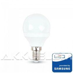 V-TAC P45 5,5W 470lm 3000K LED-izzó Samsung chipes
