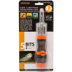 5 db-os BIT készlet LED világítással