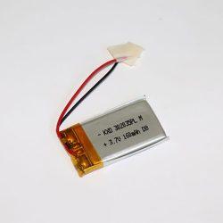 Li-Po akkumulátor 3,7V 160mAh vezetékes, beszerelhető 302035