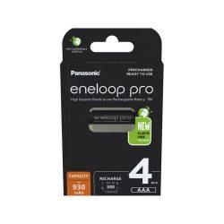 Eneloop PRO 930mAh AAA akkumulátor NiMh 4db/bliszter + AJÁNDÉK tároló