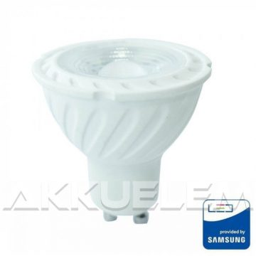 V-TAC GU10 6,5W 480lm 3000K 110 ° LED-izzó SAMSUNG chipes